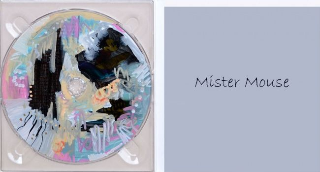 Mister Mouse - Painting, ©2012 by Muriel Cayet -