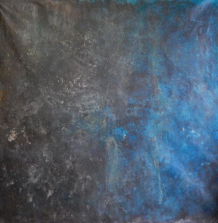 Sans titre VIII - Painting,  150x150 cm ©2014 by Chamartin -                                                            Abstract Art, Canvas, Abstract Art, abstraction lyrique, non figuratif