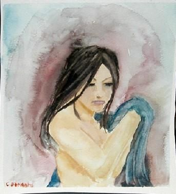 """Painting titled """"Show's Over"""" by Christina Donaghy, Original Art,"""