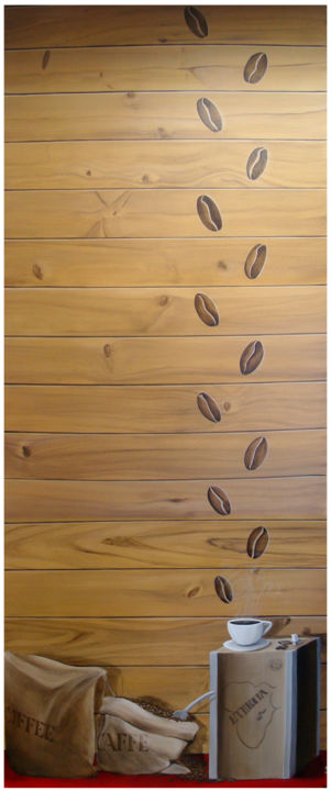 l caf painting 250x100 cm 2018 by ccile philippot