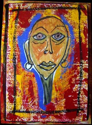 Painting ©2003 by Celine Ledoyen -  Painting