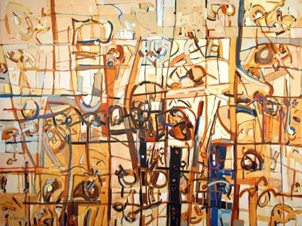 """Painting titled """"sem titulo 3"""" by Cesar Veloso, Original Art,"""