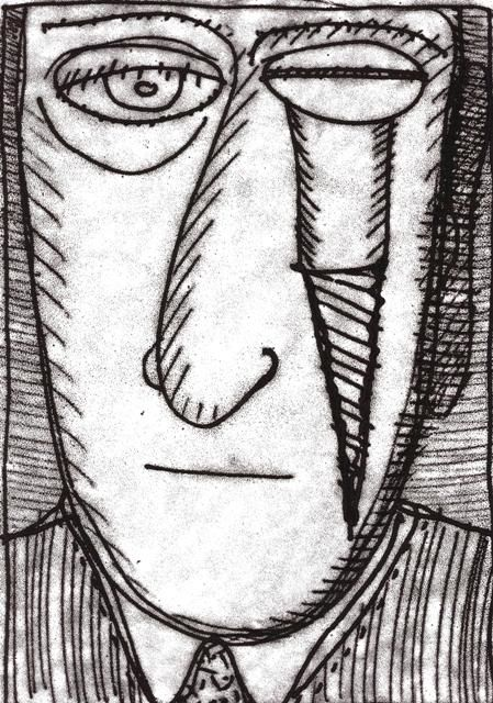 """Drawing titled """"tenes un tornillo"""" by Chaja, Original Art, Other"""