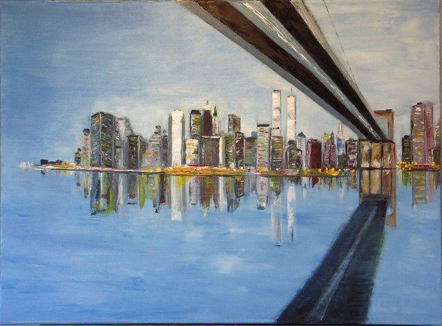 SOUS le PONT de BROOKLYN (Charles BAILLY)
