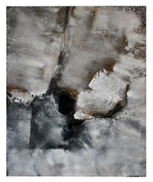 """Painting titled """"Mur 1"""" by Lucile Chevalier Moreaux, Original Art, Acrylic"""