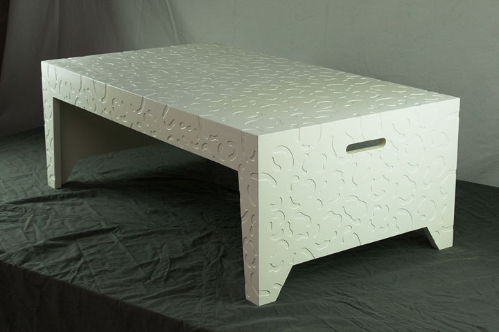 Table basse - Design,  12.6x19.7x0.1 in, ©2020 by Christophe Cornard -