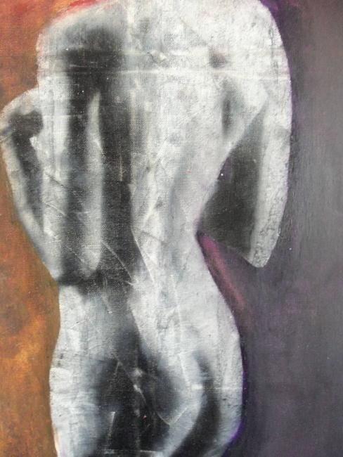 détail - Painting ©2012 by christophe cassan -