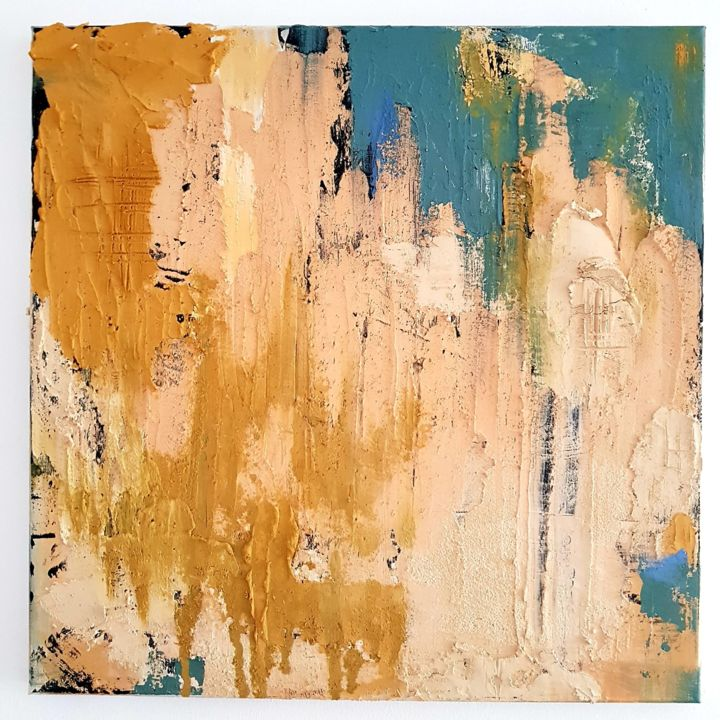 """Painting titled """"104 Days"""" by Christian Mayer, Original Art,"""