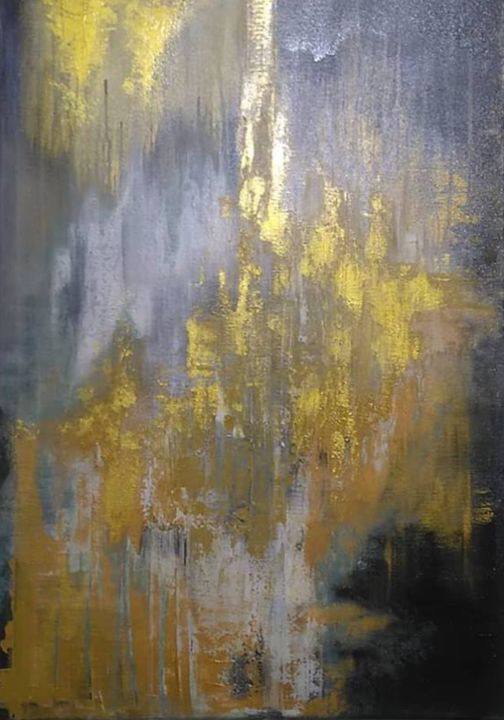 """Painting titled """"C or G"""" by Christian Mayer, Original Art,"""