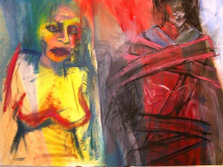 """Painting titled """"Untitled"""" by Christina White, Original Art,"""
