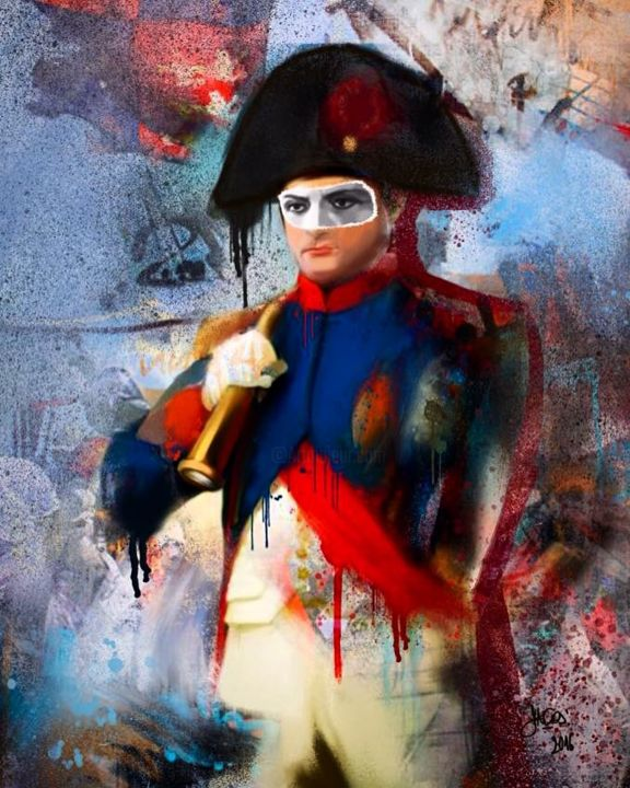 My Napoleon Painting By Dacos Christophe Artmajeur