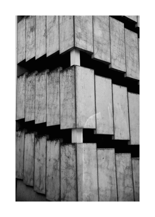 Escalier - Photography,  27.6x19.7 in, ©2014 by Christophe Lebreton -                                                              photographie
