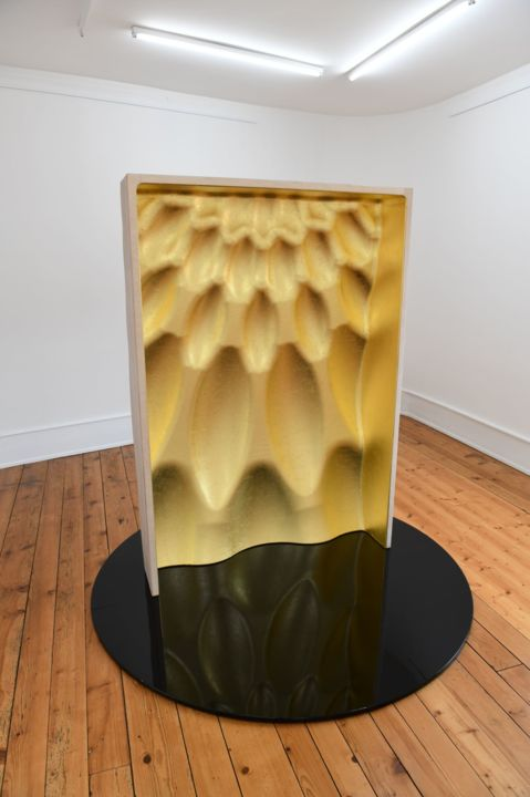 Sculpture, wood, minimalism, artwork by Christophe Bregnard