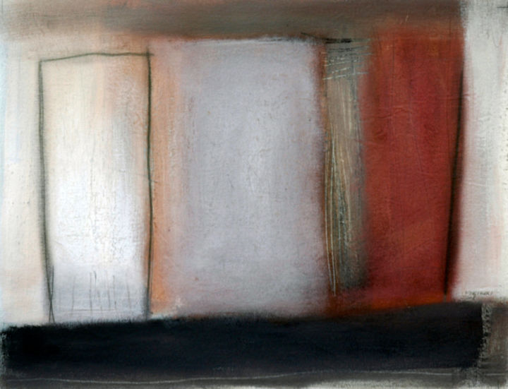 """Painting titled """"Abstract 8"""" by Ferigoli, Original Art, Acrylic Mounted on Stretcher frame"""