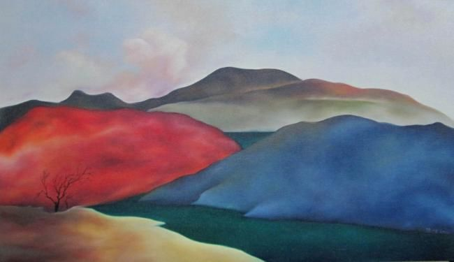 Painting,  118 x 68 cm ©2012 by yitongchen -  Painting