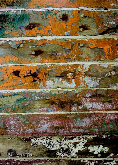 strates.jpg - Photography,  31.5x23.6 in, ©2015 by Claude Guillemet -                                                              Boat