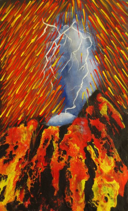 Eruption - ©   Online Artworks