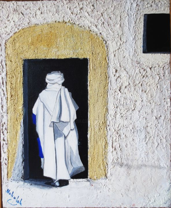 Le Seuil - Painting, ©2011 by Nahalah -                                                                                                                                                                          Classicism, classicism-933, People