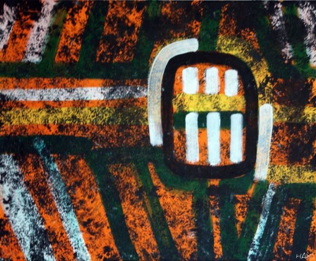 tribal - Painting ©2010 by HAX -