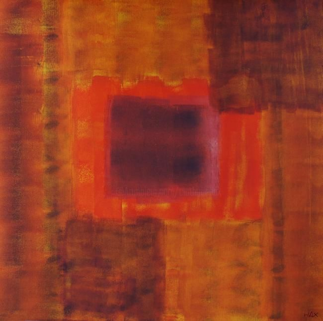 troubles d'un automne cristallin - Painting,  800x80 cm ©2011 by HAX -                        Abstract Art