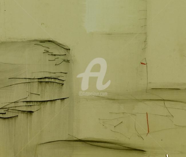 waterarchitecture, detail - Painting ©2011 by CORI  SCHUBERT -            drawing, 2009