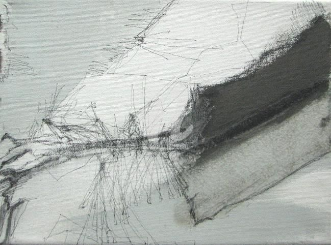 minimal - Painting,  24x18 cm ©2011 by CORI  SCHUBERT -