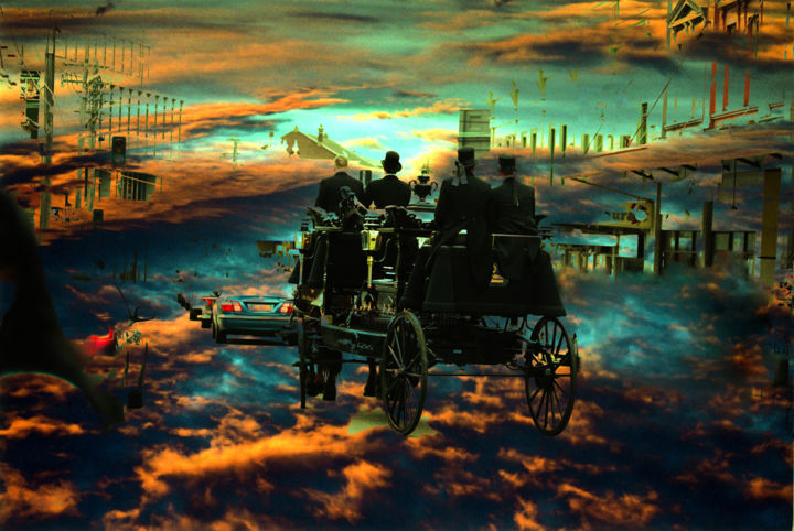 """Photography titled """"COACH JOURNEY"""" by Belleart., Original Art, Digital Photography"""