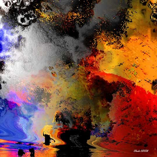 Exploration - Digital Arts ©2007 by Claude Cossu -