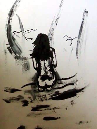 """Painting titled """"woman_II.jpg"""" by Cpdesign, Original Art,"""