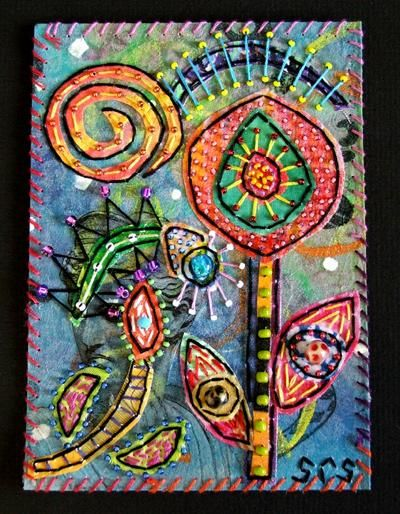 """Collages titled """"""""Octopus Garden-2"""""""" by Creative Chick, Original Art,"""