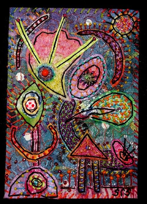 """Collages titled """"Octopus Garden 3"""" by Creative Chick, Original Art,"""