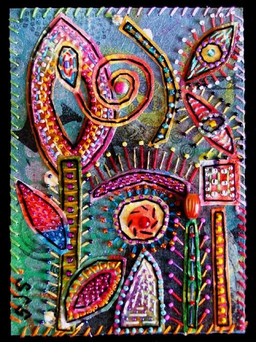 """Collages titled """"Octopus Garden 8"""" by Creative Chick, Original Art,"""