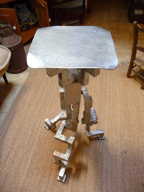 Noxstool - Sculpture, ©2009 by Cristo Ash -                                                              tabouret design