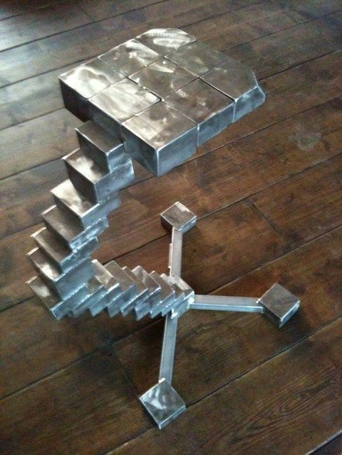 """Tabouret design""""stool staircase"""" - Sculpture, ©2012 by Cristo Ash -"""