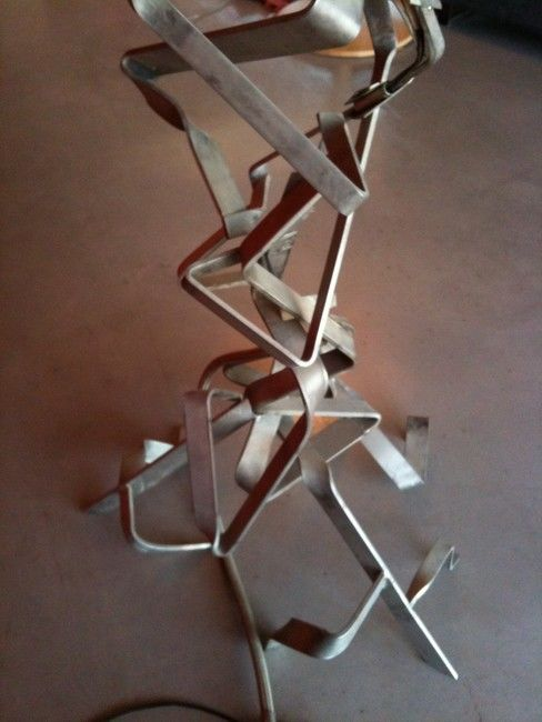 the plant - Sculpture, ©2012 by Cristo Ash -
