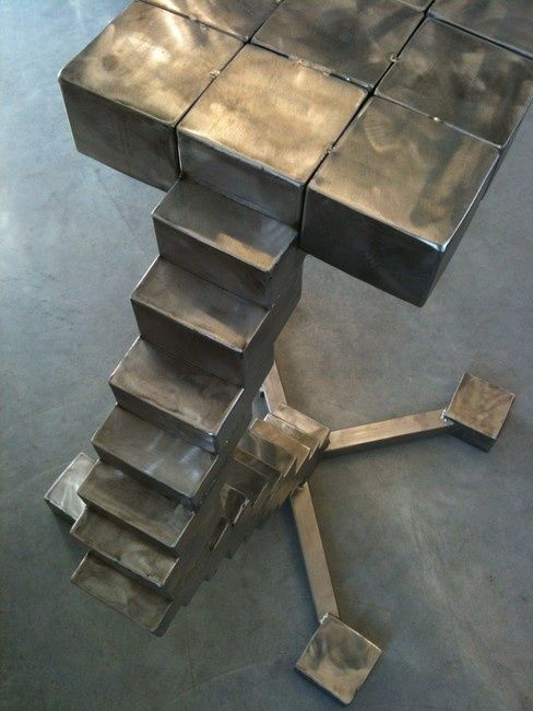 stool staircase - Sculpture, ©2012 by Cristo Ash -