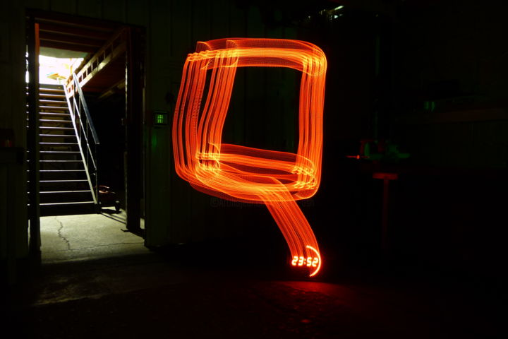 Time effect - ©  light painting Online Artworks