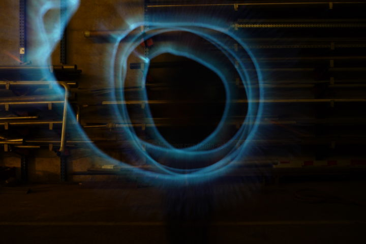 Passage - Photography ©2014 by Cristo Ash -            light painting