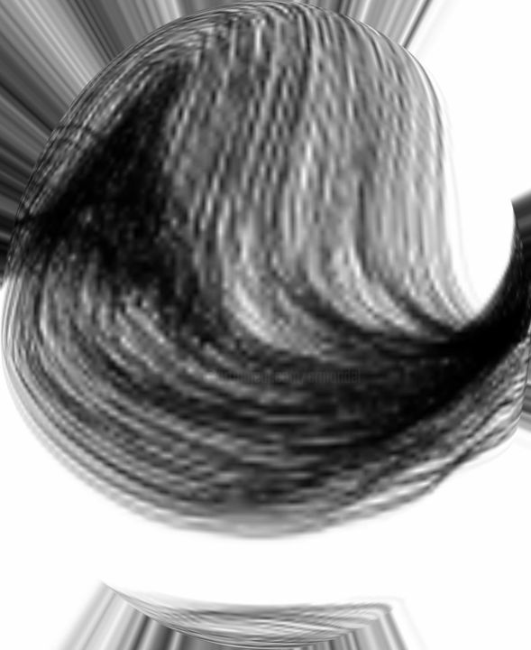 art-231c-hairlet.jpg - © 2019 HAIR, BROWN, WAVES Online Artworks