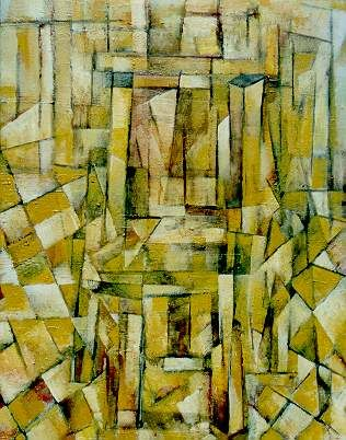 """Painting titled """"Chair on Tiled floor"""" by David Ross, Original Art,"""