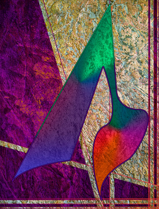 """Painting titled """"experiment.5.b.9.3…"""" by Curtis Doll, Original Art, Digital Painting"""