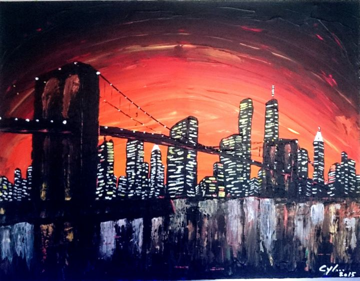 MANHATTAN - ©  usa, new york, manhattan Online Artworks