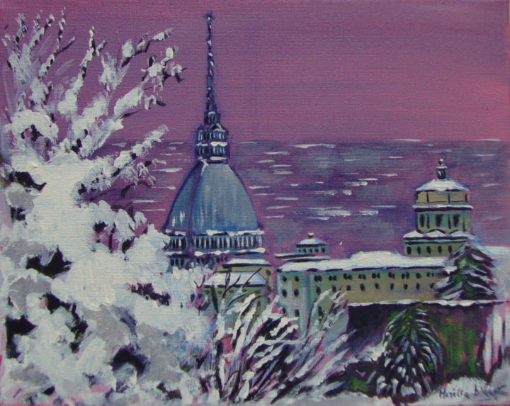 TORINO - Painting, ©2019 by M.D-Agostino -