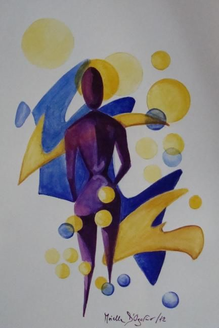 Senza titolo - Painting ©2012 by M.D-Agostino -