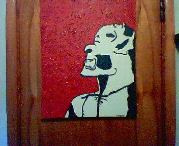 """Painting titled """"Artist's Self Potra…"""" by Carl Dabbah, Original Art, Oil"""
