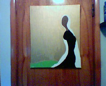 """Painting titled """"Grace"""" by Carl Dabbah, Original Art, Oil"""