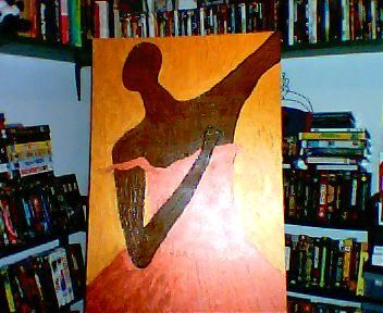 """Painting titled """"South Side Dancer"""" by Carl Dabbah, Original Art, Oil"""