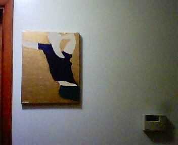 """Painting titled """"Captive"""" by Carl Dabbah, Original Art, Oil"""