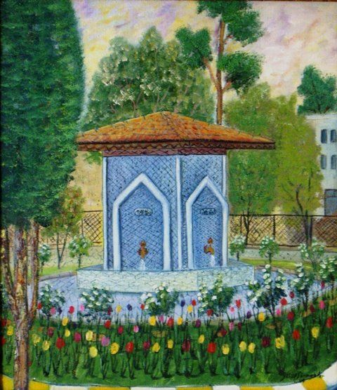 Cesme Painting By Fotoressam Artmajeur