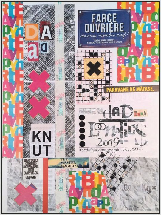 """Collages titled """"Dada - new eXperien…"""" by Viorel Florin Costea (DadaVFC), Original Art, Collages"""